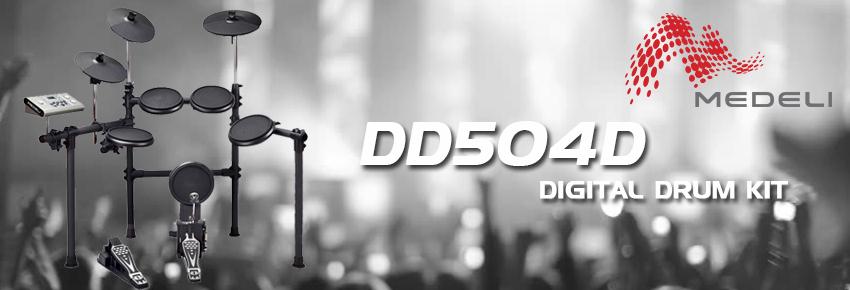 Medeli DD504D digital trummset