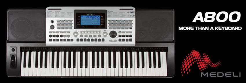 Medeli A800 keyboard